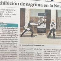 """Periódico """"El Levante"""" Exhibición por el mes de la mujer UV"""