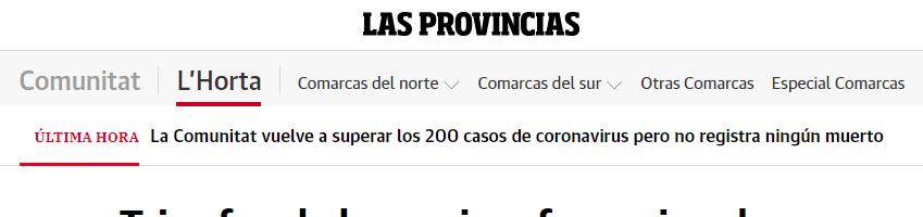 """El periódico """"Las Provincias""""  cubre los últimos pódiums conseguidos en Horta Sud"""