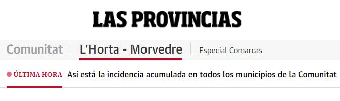 """Periódico """"Las Provincias"""" Exhibición por el mes de la mujer UV"""